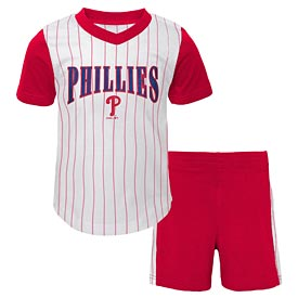 Philadelphia Phillies Infant Little Hitter Short and Tee Set