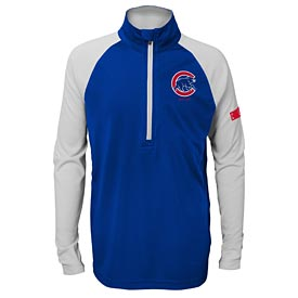 Chicago Cubs Youth Destined 1/2 Zip Jacket
