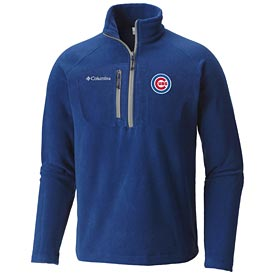 Chicago Cubs Columbia Fast Trek Fleece 1/2 Zip Jacket