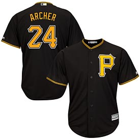 Pittsburgh Pirates Chris Archer Youth Alt Replica Jersey
