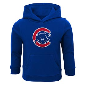 Chicago Cubs Toddler Logo Fleece Hooded Sweatshirt