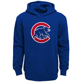 Chicago Cubs Pre School Logo Fleece Hooded Sweatshirt