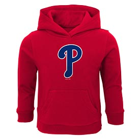 Philadelphia Phillies Toddler Logo Fleece Hooded Sweatshirt
