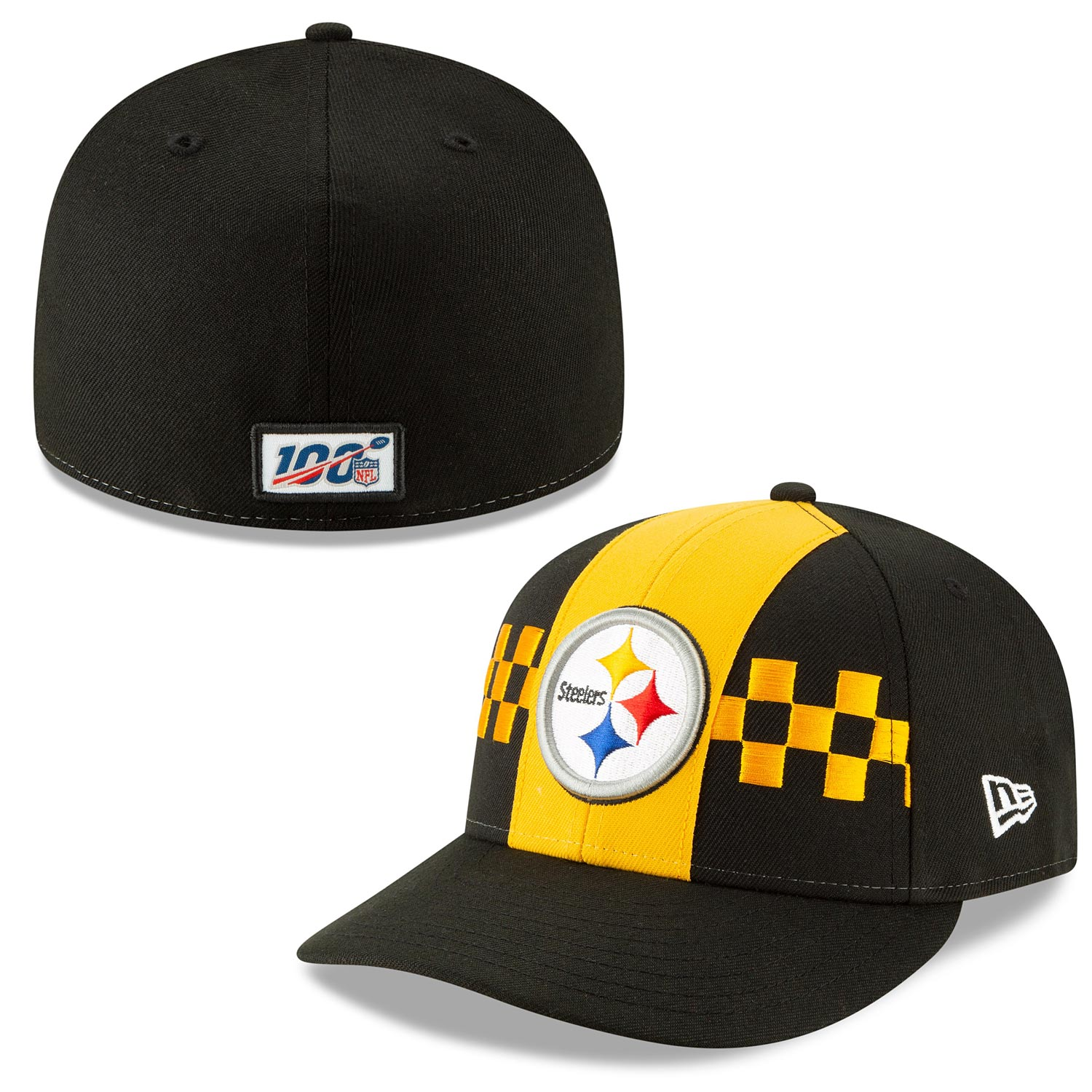 Pittsburgh Steelers 2019 NFL Draft Low Profile 59 fifty Fitted Cap