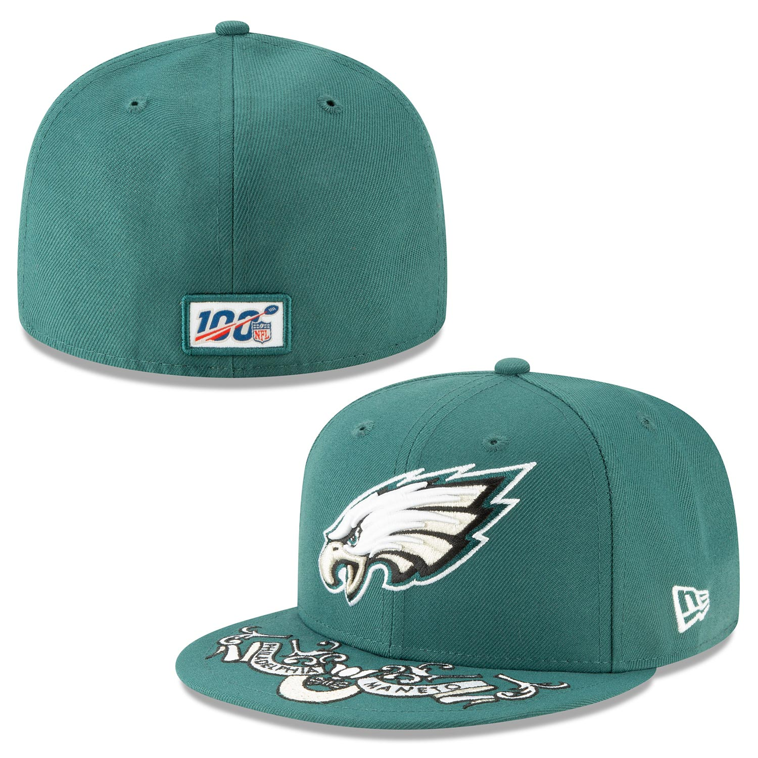 Philadelphia Eagles 2019 Draft Day 59 Fifty Fitted Cap
