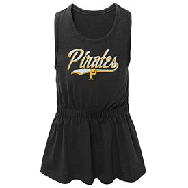 Pittsburgh Pirates Pre School Girls Shout Tank Dress