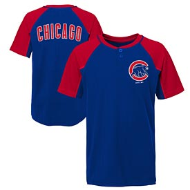 Chicago Cubs Pre School Performance Henley Tee