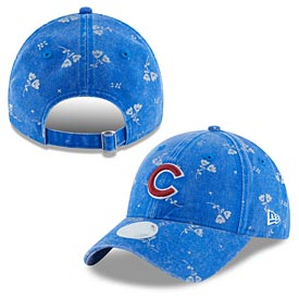 Chicago Cubs Ladies Floral Shine 920 Adj