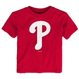 Philadelphia Phillies Toddler Primary Logo Te