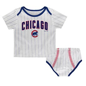 Chicago Cubs Infant Diaper Set