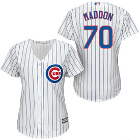 Chicago Cubs Joe Maddon Ladies Home Cool Base Replica Jersey