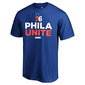 Philadelphia 76ers Team Represent Playoff Tee