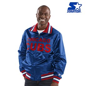 Chicago Cubs Starter The Captain Satin Jacket