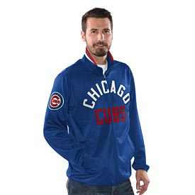 detailed look ca310 d93fd Chicago Cubs Power Pitcher Track Jacket