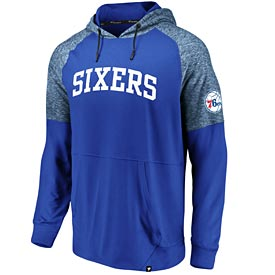 Philadelphia 76ers Made to Move Pullover Hood