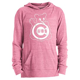 Chicago Cubs Girls Coop Tri Blend Hood