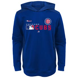 Chicago Cubs Youth Winning Streak Auth. Collection Hooded Sweat