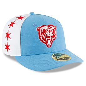 Chicago Bears 2019 Spotlight Draft 59 Fifty Low Profile Fitted Cap