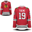 Chicago Blackhawks Jonathan Toews Ladies Red Premier Jersey w/ Authentic Lettering
