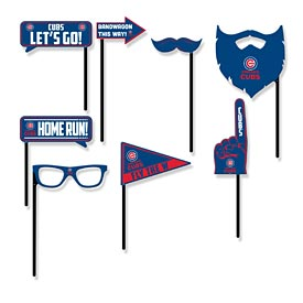 Chicago Cubs Party Props