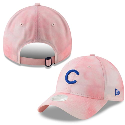 Chicago Cubs Ladies 2019 Mother's Day Ladies Tie Dye 920 Adj. Cap