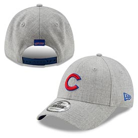 3720636782e Chicago Cubs The League Snapped Heather Snapback 940 Adj Cap