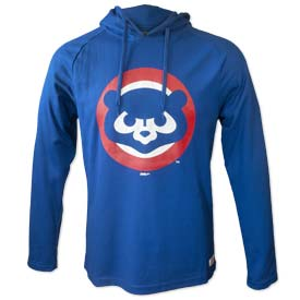 Chicago Cubs Thermal Hooded Sweatshirt