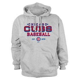 Chicago Cubs Pullover Hooded Fleece Pullover Sweatshirt