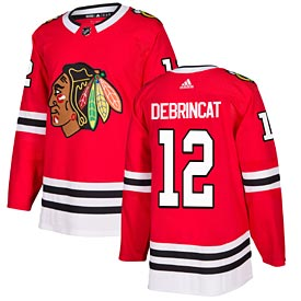 Chicago Blackhawks Alex DeBrincat Adidas Home Authentic Jersey