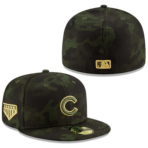 Chicago Cubs 2019 Armed Forces Day 59 50 Fitted Hat