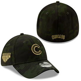 Chicago Cubs 2019 Armed Forces Day  39/30 Flex Fit Cap