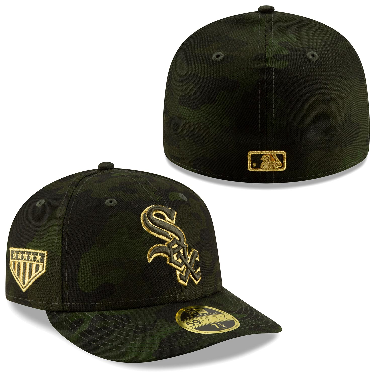 Chicago White Sox 2019 Armed Forces Day Low Profile 59 50 Fitted