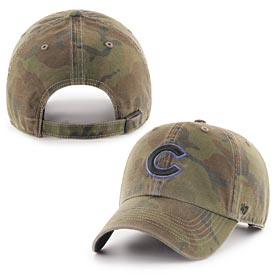 Chicago Cubs Sector Camouflage Clean up Adjustable Cap