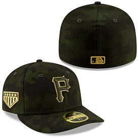 Pittsburgh Pirates 2019 Armed Forces Day Low Profile 59/50 Fitted Hat