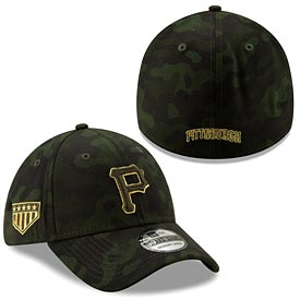 Pittsburgh Pirates 2019 Armed Forces Day Flex Fit Hat