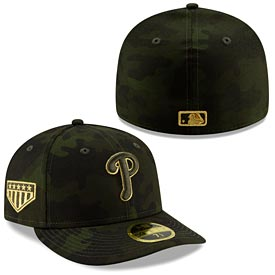Philadelphia Phillies 2019 Low Profile Armed Forces Day 59/50 Fitted Hat