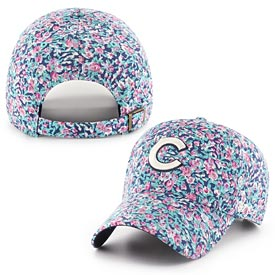 Chicago Cubs Ladies Helen Floral Adj Cap