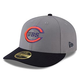 Chicago Cubs 1930s Two Tone Cooperstown Low Profile 59/50 Fitted Cap