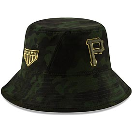 Pittsburgh Pirates 2019 Armed Forces Day Bucket Hat