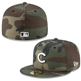 Chicago Cubs Camo 59/50 Cap