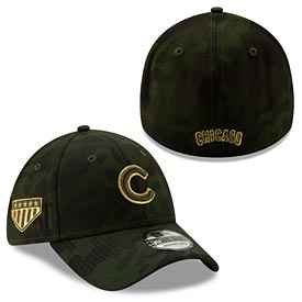Chicago Cubs Kids 2019 Armed Forces Day Fitted Hat