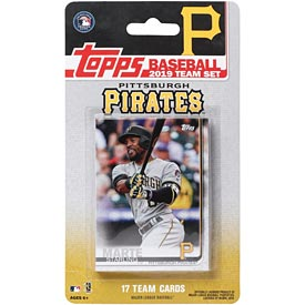 Pittsburgh Pirates 2019 Topps Team Baseball Card Set