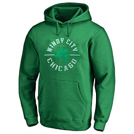 Chicago Windy City Shamrock Hoodie