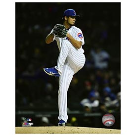 Chicago Cubs Yu Darvish 5X7 Photo