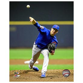 Chicago Cubs Kyle Hendricks 5X7 Photo