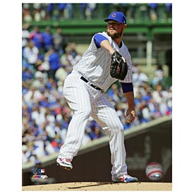 Chicago Cubs Jon Lester 5X7 Photo
