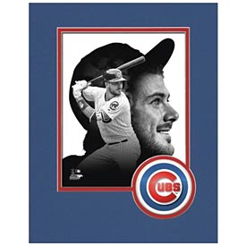 Chicago Cubs Kris Bryant Logo Matte 8X10 Photo