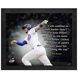 Chicago Cubs Kris Bryant 11X14 Quote Photo