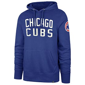 Chicago Cubs Wordmark Royal Gamebreak Hooded Sweatshirt