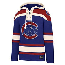 Chicago Cubs Upset of the Century Lacer Hood Sweatshirt